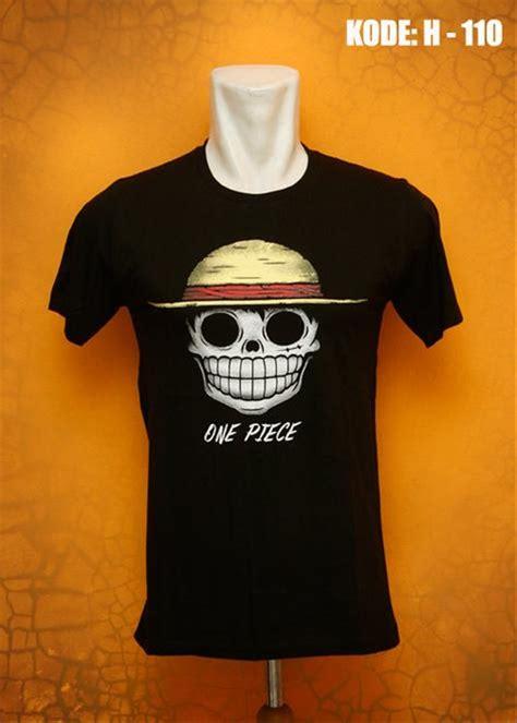 Kaos Onepiec Rt793 jual kaos one hitam di lapak plazaada megasakti11