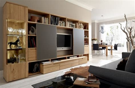 Wooden Finish Wall Unit Combinations From Hulsta by Wooden Finish Wall Unit Combinations From H 252 Lsta