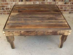 best 25 square kitchen tables ideas on pinterest square With exposed wood coffee table