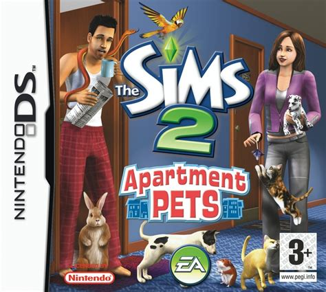 the sims 2 apartment pets nintendo ds