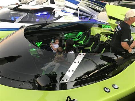 lamborghini aventador sv  matching speed boat  sale