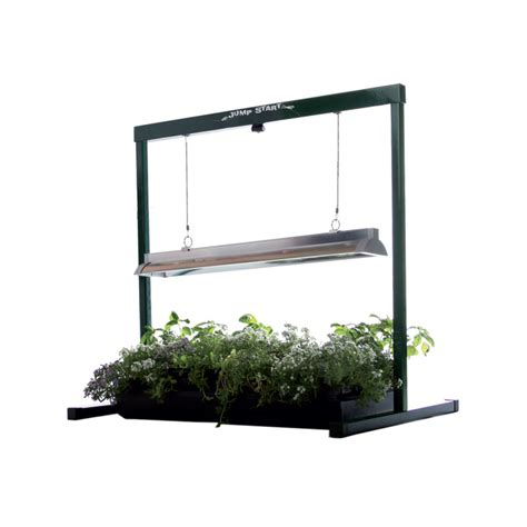 grow lights t5 jump start grow light system includes fluorescent light