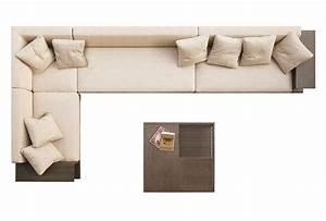 Single Sofa Top View