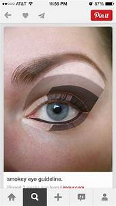 Eyeshadow  Shape And Concealer On Pinterest