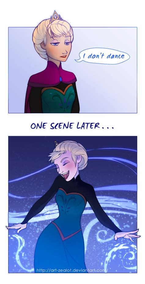 Elsa Memes - elsa does dance frozen know your meme