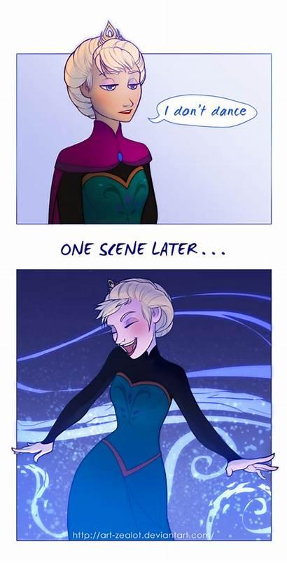 Elsa Frozen Dance Anna Don Deviantart Club