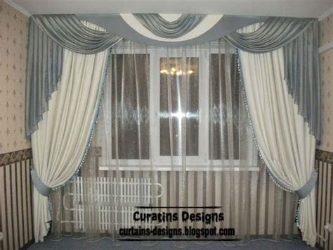 arched window treatments patterns unique curtains designs grey and white curtain styles