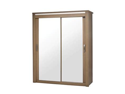 armoire chambre porte coulissante miroir armoire 2 portes coulissantes miroir bahia laque perle
