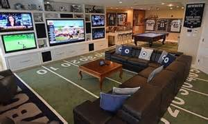 Cheap Dallas Cowboys Home Decor creating a basement game room 4 tips and 26 examples