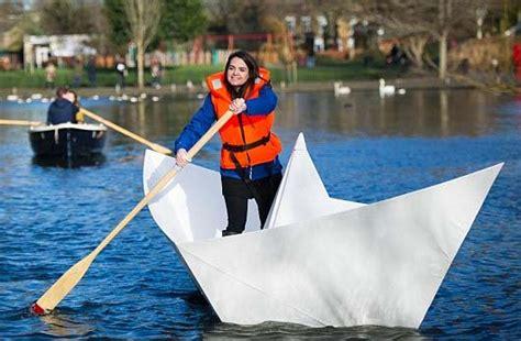Catamaran Boat Origami by Paper Catamaran How To Fold The Origami Catamaran