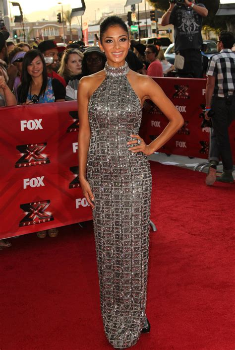 nicole scherzinger evening dress nicole scherzinger