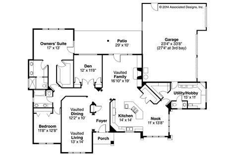 southwest floor plans southwest house plans mesilla 30 183 associated designs