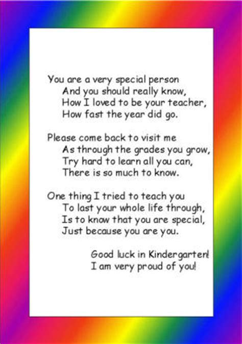 preschool graduation poem preschool or kindergarten graduation poem 696