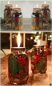 diy mason jar christmas craft ideas