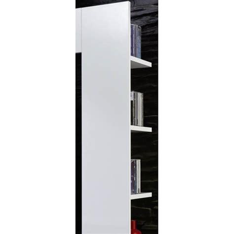 Banc Tv Design Laqué Blanc Drice Matelpro