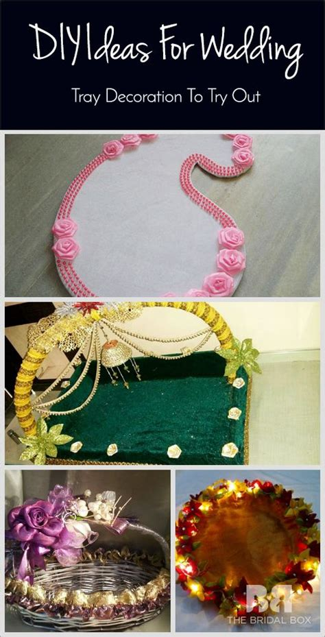 9 diy wedding tray decoration ideas to try out wedding