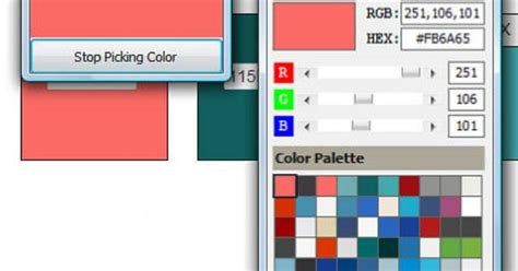 use these free tools for saving quilt colors the color
