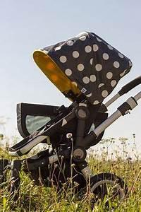 Kinderwagen Untergestelltasche Erdbeerfeld