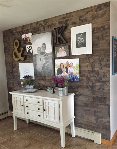 fake  reclaimed wood wall