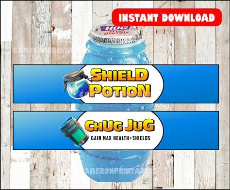 fortnite birthday party shield potion  chug jug