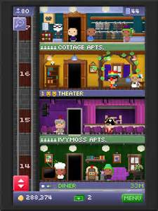 my tower has 47 floors things tiny tower is second person shooter