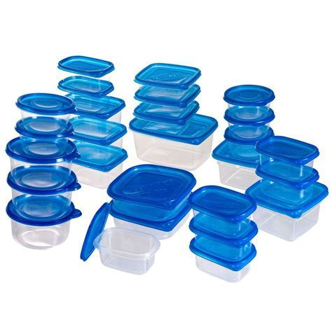 Chef Buddy Food Storage Container Set with Air Tight Lids