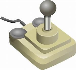 Joystick Beige Gray Clip Art at Clker.com - vector clip ...