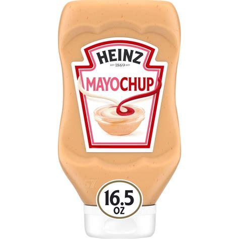 Heinz Mayochup Sauce, 16.5 oz Bottle - Walmart.com ...