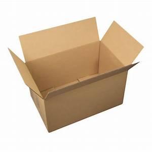 Carton De Déménagement Gratuit : carton d m nagement standard poign es 55x35x30cm ~ Premium-room.com Idées de Décoration