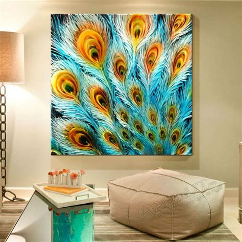 the wall decor wall designs peacock wall wall painting home