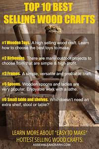 Top 10 Best Selling Wood Crafts To Make And Sell