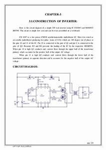 Power Inverters 12v To 230v Wiring Diagram Solar Street