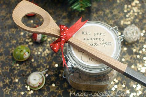 cadeau de cuisine kit risotto aux cèpes à offrir recette de cuisine mademoiselle cuisine recettes astuces