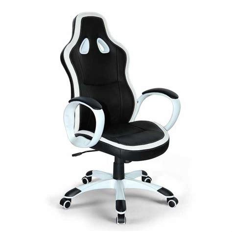 sedia da gaming  ufficio  ecopelle ergonomica stile