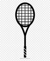 Tennis Coloring Racquet Teni Raquete Desenho Transparent Pngfind Racket sketch template
