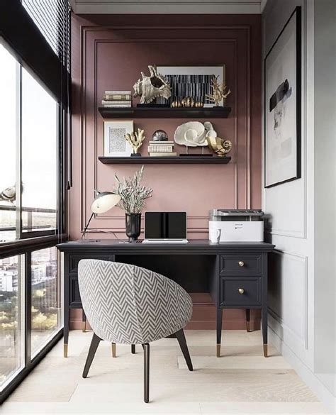 8 Amazing Small Home Office Designs For Work Comfort ...