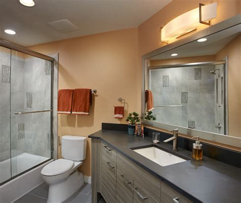 clean laminate bathroom remodel tucson