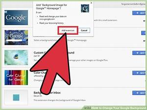 3 Ways to Change Your Google Background