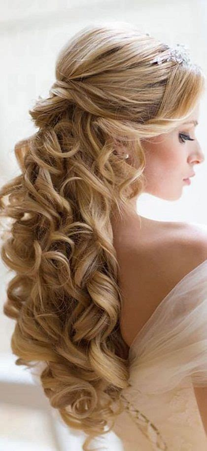 35 bridal wedding hairstyles for long hair to stand you out