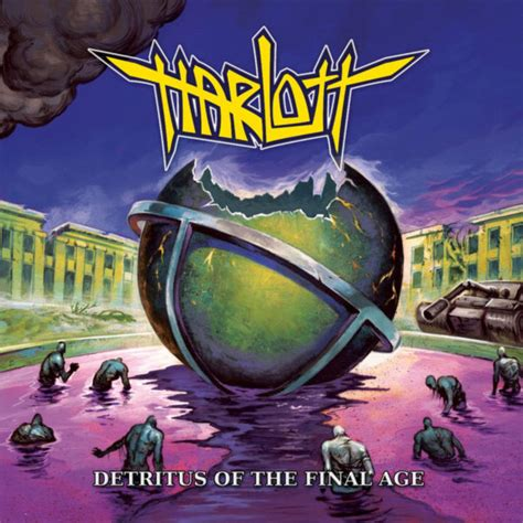 ALBUM REVIEW: Harlott – Detritus Of The Final Age | Ghost ...