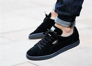 Nettoyer Puma Suede : nettoyer chaussures noires ~ Melissatoandfro.com Idées de Décoration