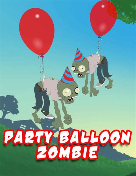 plants  zombies party balloon zombie party balloons
