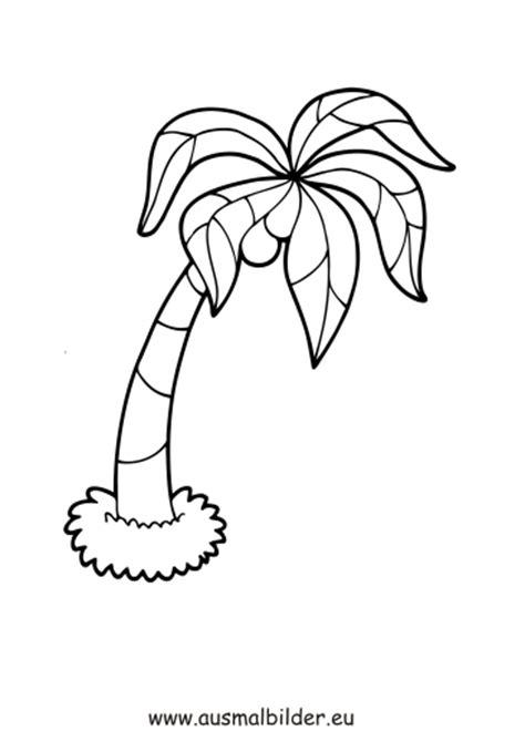 ausmalbilder palme piraten malvorlagen ausmalen