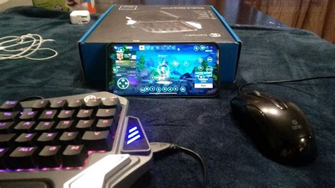keyboard  mouse  fortnite mobile gamesir  review