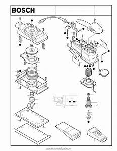 Bosch Orbital Sander Parts List