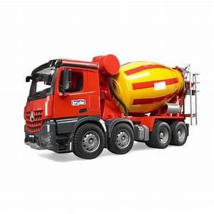 Toupie Béton Prix : bruder 3654 camion toupie beton mb arocs echelle 1 ~ Premium-room.com Idées de Décoration