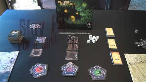 betrayal at house on the hill drakkenstrike s betrayal at house on the hill components