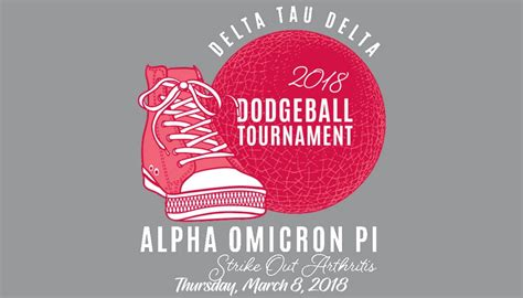 Dodgeball Returns; Aoii Tourney For Arthritis Research Is