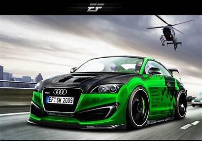Illustrations Virtual Wallpapers Tuning Audi Tt Rs