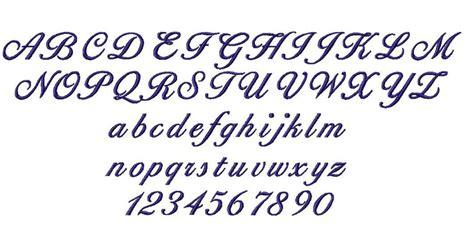 pin  sara  hand lettering alphabet   embroidery fonts monogram alphabet machine